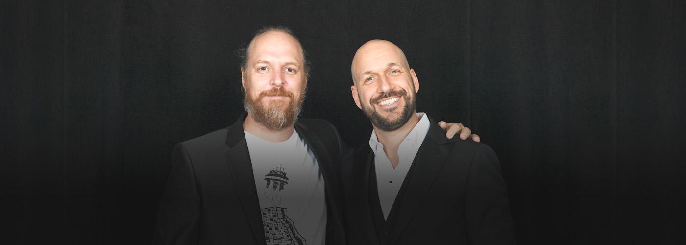 Fabien Cloutier et Martin Matte